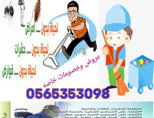 شركة مكافحة حشرات دبي |0565353098|ابادة فورية